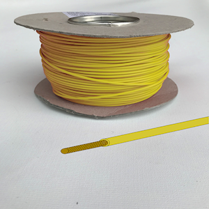 Automotive/Marine Cable Single Core - Yellow - 8.75amp