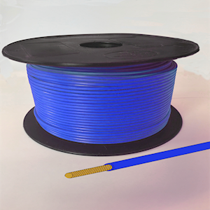 Single Core Cable - Blue - 35/0.30 21.75amps (CAB.35/BLUE)