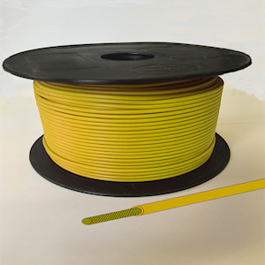 Single Core Cable - Yellow - 28/0.30 17.5amp