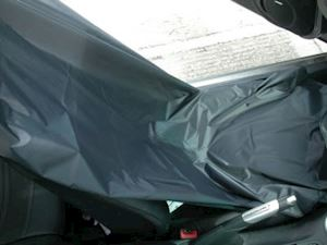 Reusable Protective Car Seat Cover (Black)