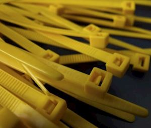 Cable Ties 140mm x 3.6mm - Yellow (CST.2Y)