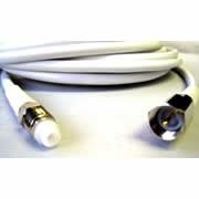 FME Female - FME Male RG58 White Cable Extension (10m) (CW23F-10FP)
