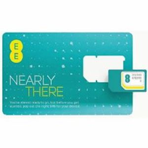 EE M2M Fixed Public Sim Card 10GB