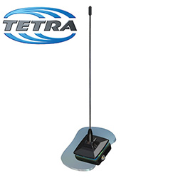 Glass Mount Antenna TETRA 380-400MHz (GM.390-5)