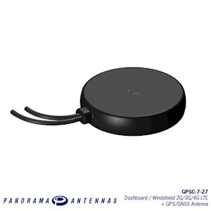 Cellular & GPS/GNSS Antenna (GPSC-7-27-3SP)