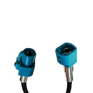 HSD Code Z Water Blue Male to Female 5 meter cable assembly (HSDC500CM-ZM-ZF)