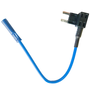 Add-A-Circuit Piggy Back Mini Blade Fuse Holder Blue 20amp
