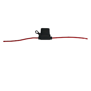 In Line Blade Fuse Holder In-Line Red 15 amp (IFH.6C/RED)