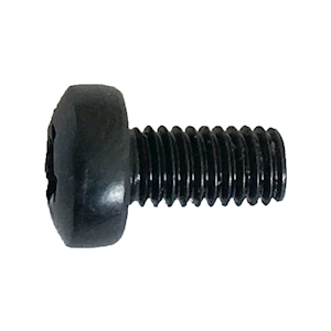 M3 X 6 POZI PAN HEAD MACHINE SCREW BLACK (MET.36)
