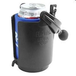 "(RAM-B-132B) Drink Cup Holder with 1"" Ball"