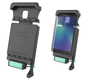 GDS Locking Vehicle Dock for the Samsung Galaxy Tab Active 2 (RAM-GDS-DOCKL-V2-SAM29)