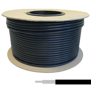 Coaxial Cable - RG58/U Low Loss Black (100m)