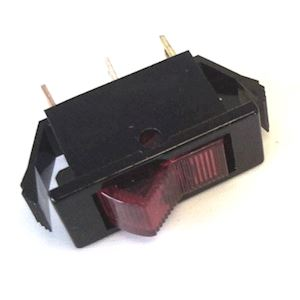 Rocker Switch 16a Spst Rd Neon (RS.SRSNR)