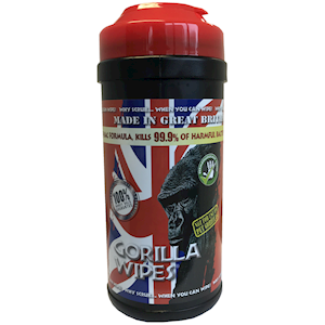 Gorilla Wipes Tub of 80 (KCG.80) *BACK IN STOCK*