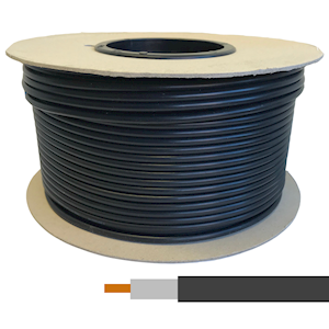 Double shielded ultra low loss cable
