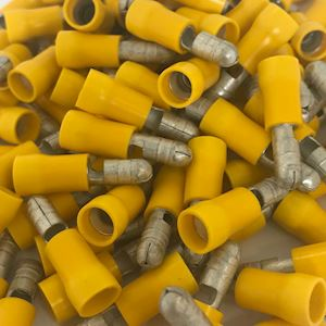 5.0mm Bullet Terminal - Yellow (WT.71A)