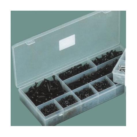 Assorted Metric Screws & Nuts Black