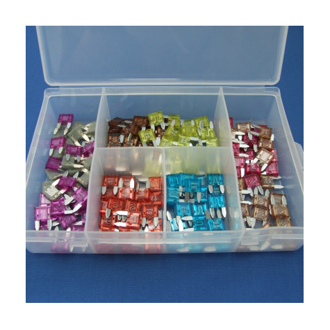 Assorted Miniature Blade Fuses