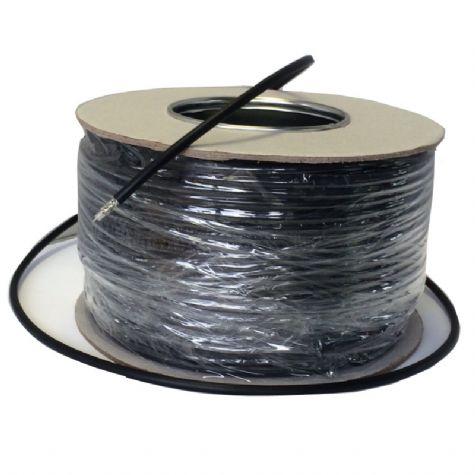 Coaxial Cable - RG58/U Low Loss Black (100m)