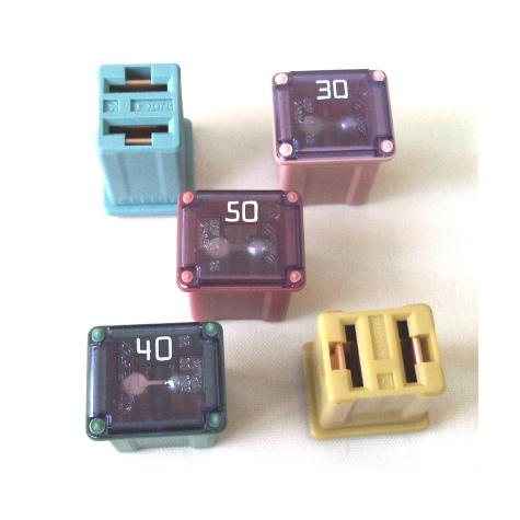 JCASE Low Profile Fuse 30amp Pink Automotive