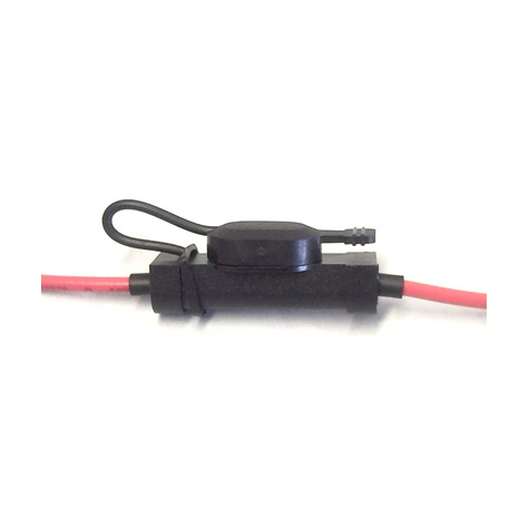 Blade Fuse Holder Low Profile 20amp Red