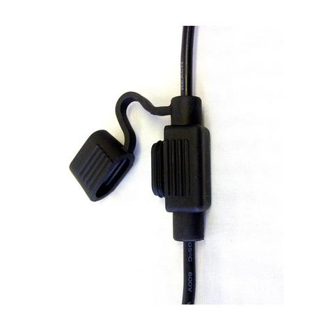 Mini Blade Fuseholder Black