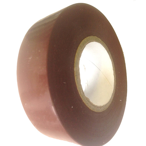 PVC Electrical Insulation Tape Brown