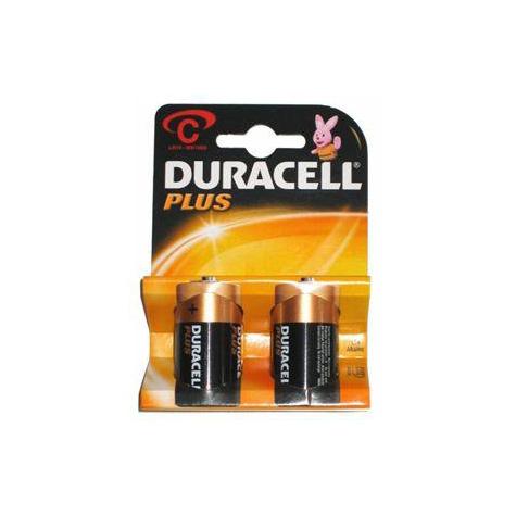 Duracell Plus Batteries C 2pack