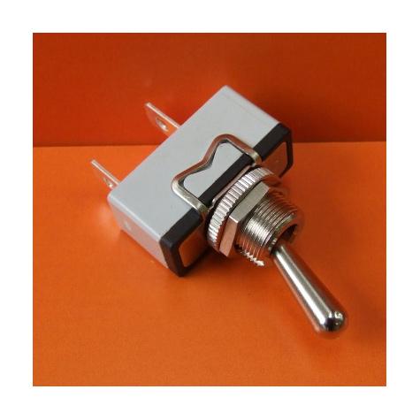 Switch- Toggle On/Off 15amp 250V Single Pole Chrome