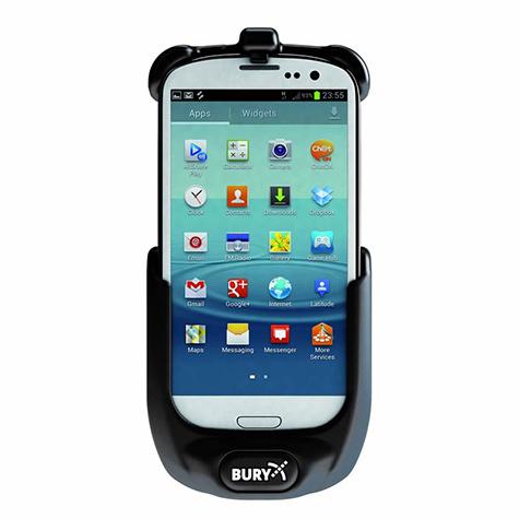 Bury System 8 Hands-Free Car Kit  Cradle - Samsung Galaxy S3