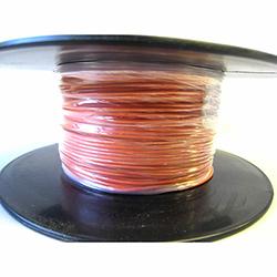 Automotive/Marine Thin Wall Cable  Orange 11amp