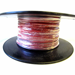 Automotive/Marine Thin Wall Cable - Red - 11amp