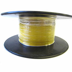 Automotive/Marine Thin Wall Cable  Yellow  11amp