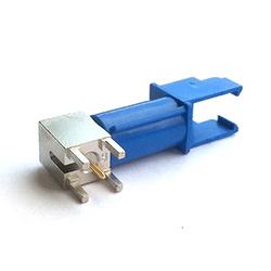 FAKRA Male R/A PCB GPS  Blue Code C