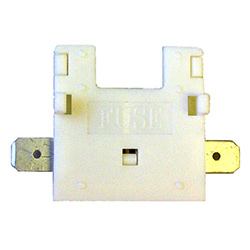 Blade Fuse holder ATO White In-Line 20amp