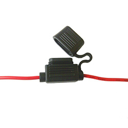 In Line Blade Fuse Holder In-Line Red 20amp Qty 1