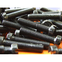 M4 X 12mm Slotted Pan Head Machine Screws Black