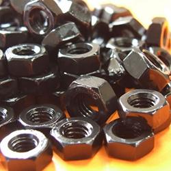 M5 Hex Full Nuts - Black
