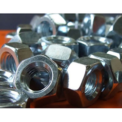 6mm Nuts (10mm Spanner Size) Zinc Plated