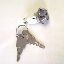 Key Switch Miniature 3 Position