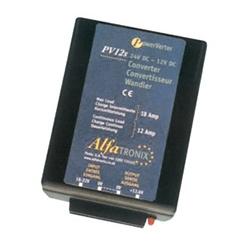 24 VDC-12 VDC 18 amp Voltage Converter PV12S Alfatronix