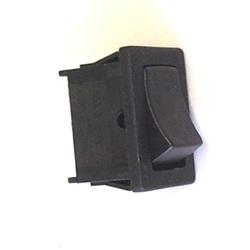 Rocker Switch 6amp 250V SPST Black