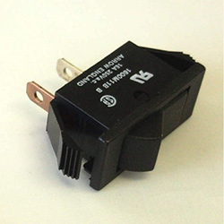 Rocker Switch 16Amp  250V SPST Black
