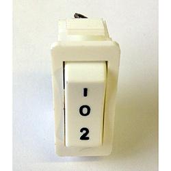 Rocker Switch 10Amp 250V SPDT White
