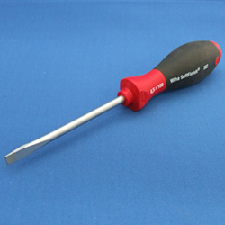 Slotted S/Driver 6.5mm X 100mm