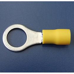 10.0mm Ring Terminal - Yellow