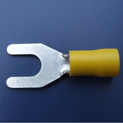 6.4mm Fork Terminal - Yellow