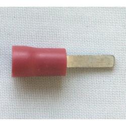 3.0mm Flat Blade Term. - Red