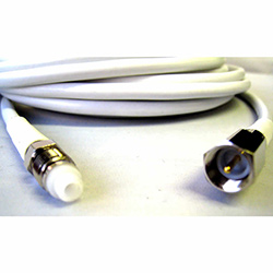 FME Female - FME Male RG58 White Cable Extension (10m)