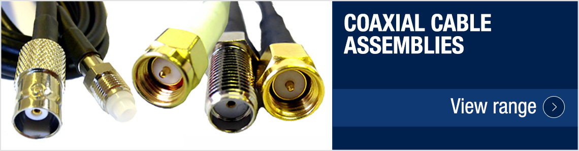 Coaxial Cable Assemblies : Co star specialists in engineering consumables